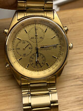 Watch Seiko Chronograph Men's Water Resistan Collectable Working Ok 7T32-7A49