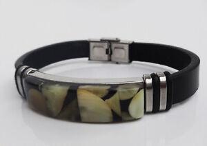 Baltic Amber Bracelet for Men's