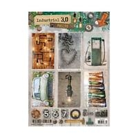 Studio Light A4 Die Cut Toppers Sheet Industrial 3.0