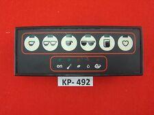 Saeco Profimat De Luxe Kaffeevollautomat Bedienpanel + Display#KP-492