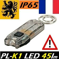 MINI LAMPE TORCHE LED DE POCHE LED PL-K1 45Lm 0,2W RECHARGEABLE USB PORTE CLÉ