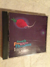 FRENCH FRITH KAISER THOMPSON CD INVISIBLE MEANS WD-1094 1990 FOLK