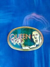 Queen Belt Buckle,News Of The World,1977,Pacifica Mfg.,Freddie,Brian,Roger, John!