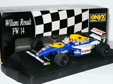Onyx 119 Williams Renault FW14 Nigel Mansell 1/43