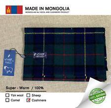 Mongolian 100% Cashmere Men's Scarf 160x30cm Ulrta Soft Thermal Very Warm