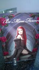 Anne Stokes Greetings Card with Envelope -  Be Mine Forever Await the night