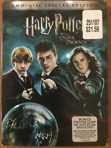 NEW Harry Potter and the Order of the Phoenix (DVD, 2007)