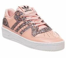 ADIDAS ORIGINALS RIVALRY LOW TRAINERS SPARKLY PINK UK 5