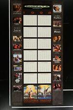 COLUMBIA TRISTAR FILM DISTRIBUTORS INTERNATIONAL CALENDAR 1998 Orig. MINT Rolled