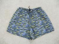 Patagonia Swim Trunks Adult Extra Large Blue Bathing Suit Shorts Mens