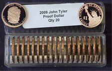 2009 S President JOHN TYLER 20 Proof Presidential Dollars In Coin Keeper