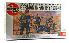 Airfix Multipose WWII German Infantry #4582 3rd version 12 figures mint in box