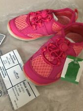 NWT Lands End Water Sport Shoes Toddler Little Girls 9W wide ~free shipping