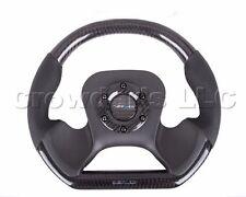 Brand New NRG Steering Wheel 320 mm NSX Style Carbon Fiber Center Plate ST-X10CF
