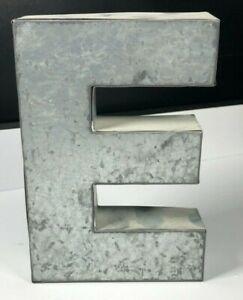 "Metal Rustic Letter 6"" Hangable Mountable Home Décor Bedroom Garage Outside Desk"
