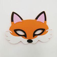 Fox Zoo Farm Animal Jungle Safari Foam Mask Fancy Dress School Party New
