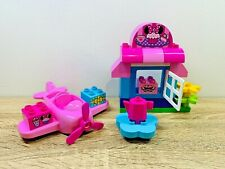 Lego Duplo Disney Minnie's Mouse Cafe Pink Airplane Cupcake Presents