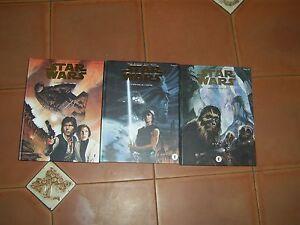 star wars l héritier de l empire 3 tomes tirage spéciale lettrage frappée  or