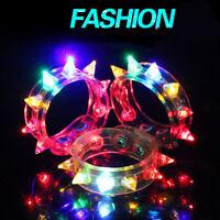 1pcs LED Spike Bracelets Light Up Bracelets for Party Rave Nightclub Bar Concert