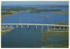 Hilton Head Island Bridge to Mainland, South Carolina, Resort Town SC - Postcard