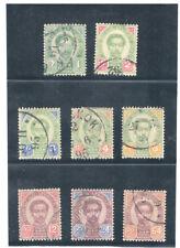 THAILAND 1887 - 1890 King Chulalongkorn FU
