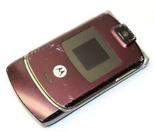 Motorola Razr V3m Cellphone Flip Folding Cellular Phone Handset Red