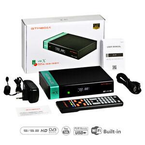 Receptor gtmedia V8X FTA satellite receiver DVB-s2/S2X full hd h.265 Scart+CA