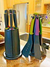 Joseph Joseph Elevate Carousel 6-Piece Knife Set + Elevate Carousel Utensil Set