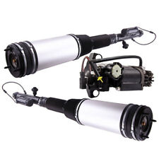 2x Pair Rear Air Suspension Struts+ Compressor Pump for Mercedes-Benz S-Class