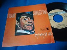 FRANK SINATRA - MY WAY OF LIFE - PORTUGAL 45 EP