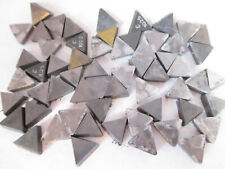 Lot Of 59 Indexable Carbide Triangle Inserts 1332 X 18