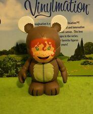 "Disney Vinylmation 3"" Park Set 2 Cutesters Too Squirrel Costume Kid Boy"