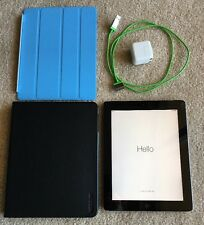iPad 2nd Generation 16GB Black Wi-Fi Only With Charger And Case, CLEAN IMEI