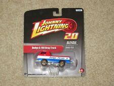 Johnny Lightning 2.0 Dodge Fever A-100 Drag Truck Red White Blue 1:64 MOC 2011