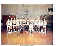 1968 1969 SEATTLE SUPERSONICS 8X10 TEAM  PHOTO RULE NBA  BASKETBALL USA