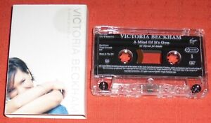 VICTORIA BECKHAM - UK CASSETTE TAPE SINGLE - A MIND OF ITS OWN (SPICE GIRLS)