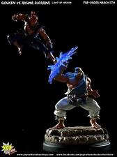 STREET FIGHTER Gouken vs Akuma Diorama Pop Culture Statue Sideshow Collectibles