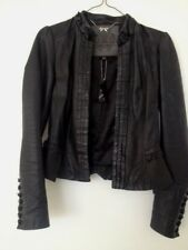 BRAND NEW FOREVER NEW LADIES 100 PER CENT LEATHER JACKET SIZE 6 COST $299.99