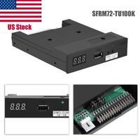 "SFRM72-TU100K 720K 3.5"" USB Floppy Disk Drive Emulator Industrial Equipment US"