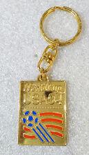RARE Vintage Metal Keychain ✱ USA 94 FIFA WORLD CUP ✱ Porte-Clés Football Soccer