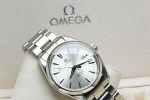 Gents Omega Aqua Terra 39mm Wristwatch Ref 25173000 - Boxed