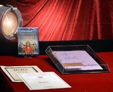 ORANGE IS THE NEW BLACK Signed SCRIPT, 4 Cast Autographs, COA, CASE, Blu Ray DVD