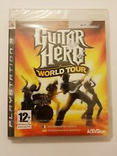 Guitar Hero:World Tour PlayStation 3 ps3 pal España Nuevo y Sellado de Fabrica