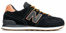 New Balance NB 574 Men's Classic Sneakers Lifestyle Shoes Black Suede ML574XAB