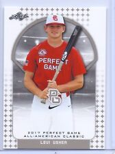 """LEVI USHER 2017 """"1ST EVER PRINTED"""" PERFECT GAME AAC ROOKIE CARD!!!"""