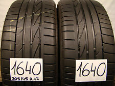 2 x Sommerreifen Bridgestone Potenza  RE 050A  205/45 R17 84V.