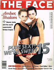 THE FACE May 1995 15th Birthday Ed AMBER VALLETTA Shalom Harlow ELIZABETH HURLEY