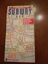 Free Ship - Vintage May 1996 Subway Map - Nyc Mta / Nyc Transit