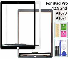 USA For iPad Pro 12.9 2nd 2017 A1670 Touch Screen Digitizer Replacement White