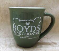 Boyd's Bear Country Mug Coffee Cup World's Most Humongous Teddy Bear Store